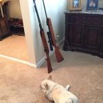 アメリカ人と機関銃